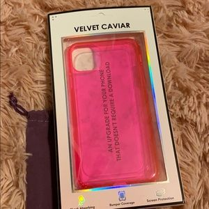Velvet Caviar iPhone 11 Pro Max case